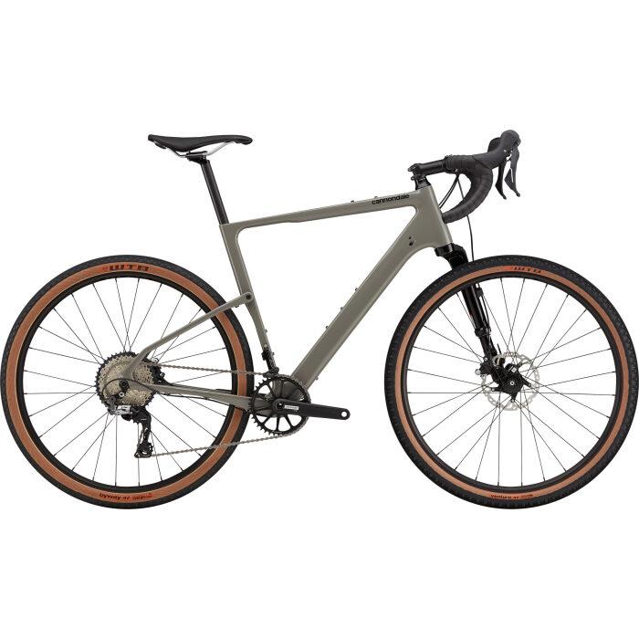 Cannondale Topstone Carbon Lefty Grey