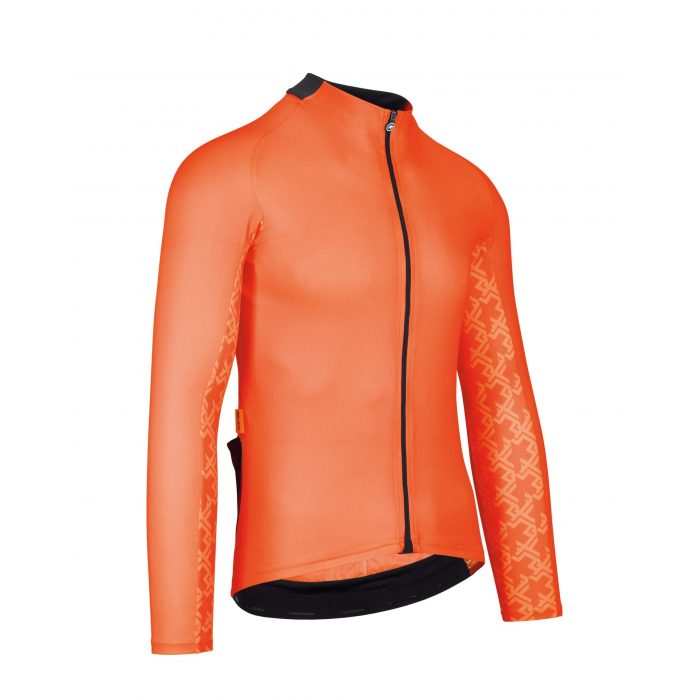 Assos Mille GT LS Jersey LollyRed Seite scaled