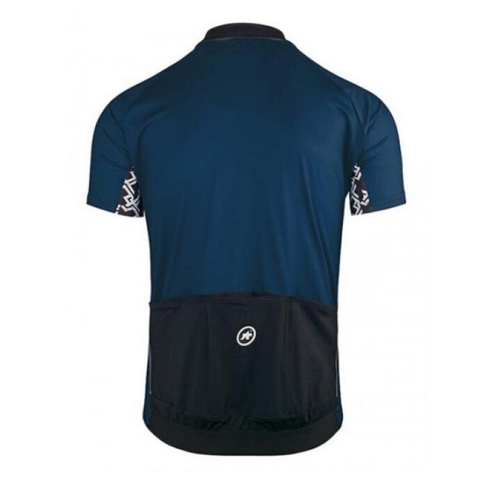 Assos SS Mille GT Jersey Blue Back