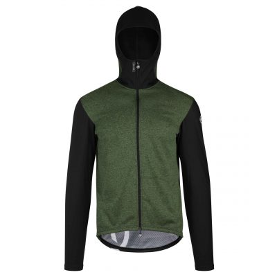 Assos Trail Jacket Spring Fall Green scaled
