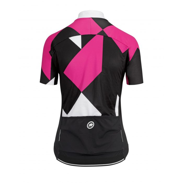 Assos Womens Rock SS Jersey Pink Back scaled