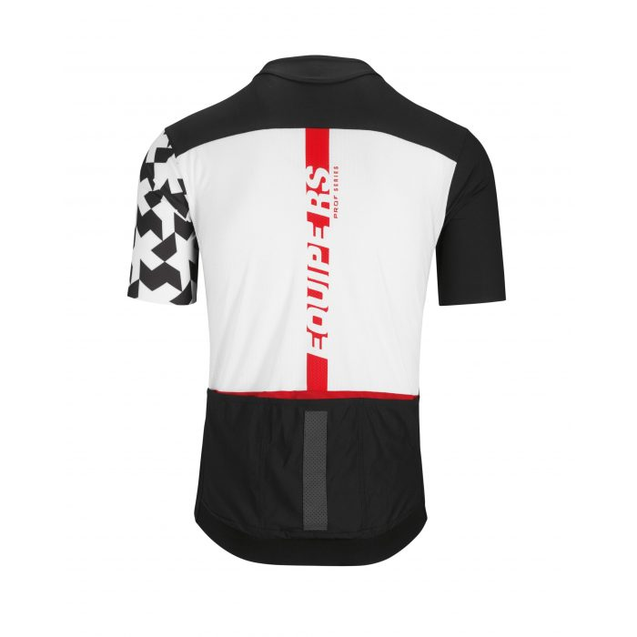 Equipe RS Aero SS Jersey Black Back Assos scaled