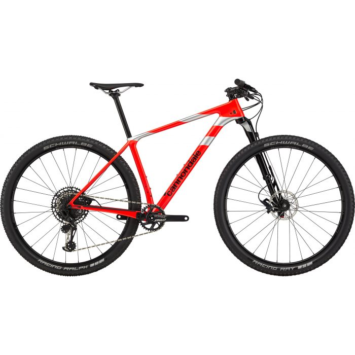 F Si Carb 3 Red 2020 Cannondale