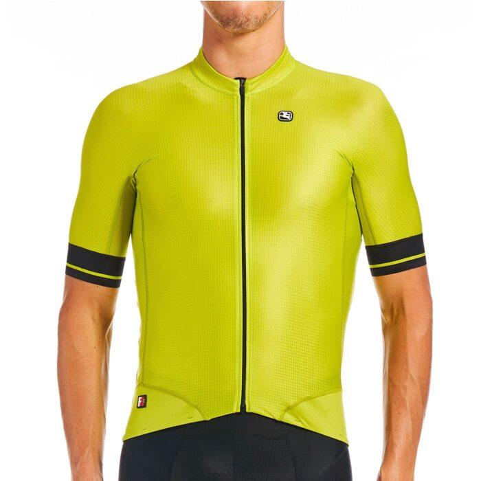 Giordana FR C Pro Jersey Lime