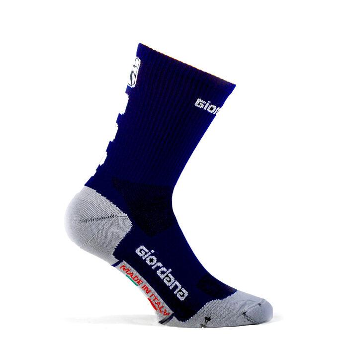 Giordana Socken Hoch Navy Blue