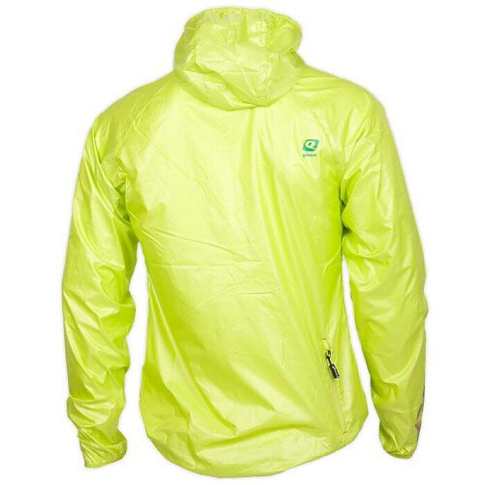 Qloom Roebuck Bay Jacket Lime Back