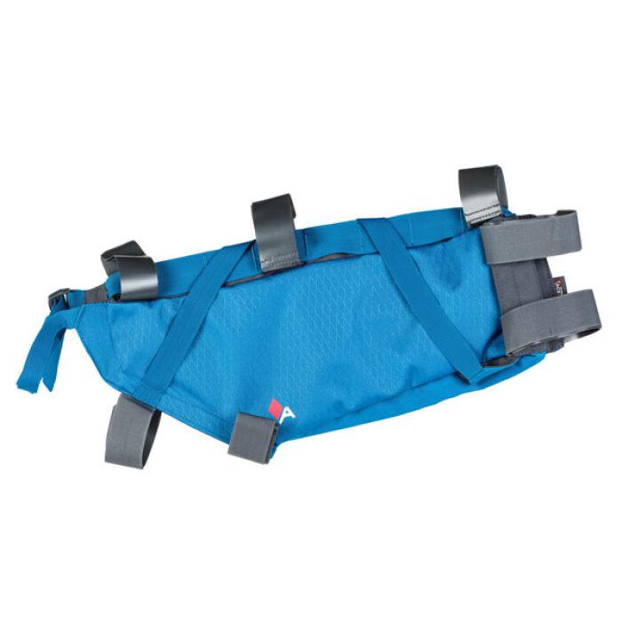 Roll Bag Bikepacking Blue