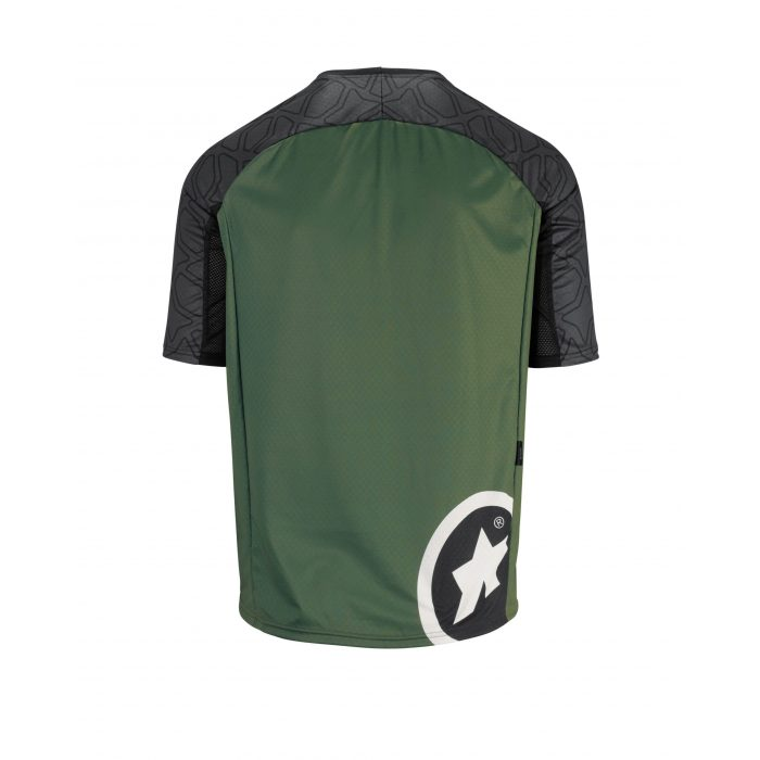 Trail SS Jersey Men Green Back scaled