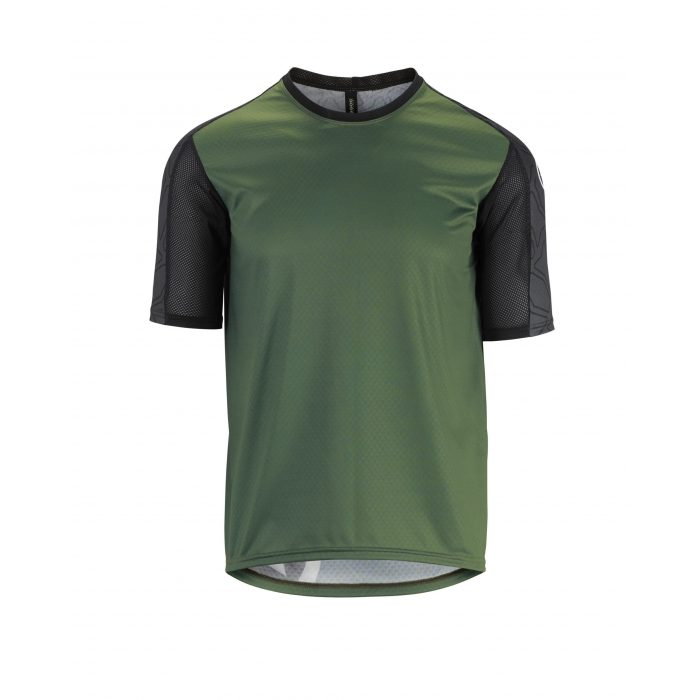 Trail SS Jersey Men Green scaled