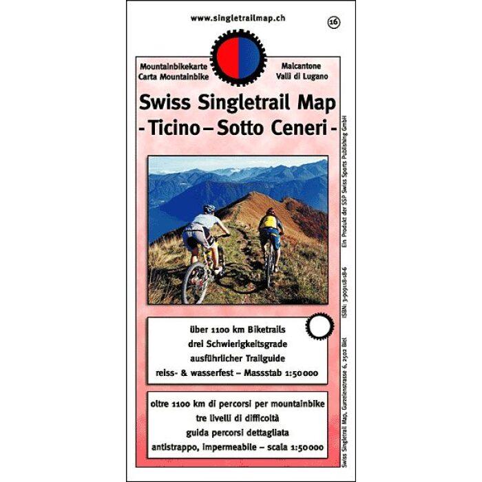 singletrail map 16 ticino sotto ceneri