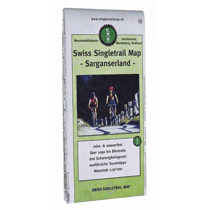 singletrail map 19 sarganserland