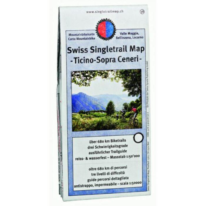 singletrail map 36 ticino sopra ceneri