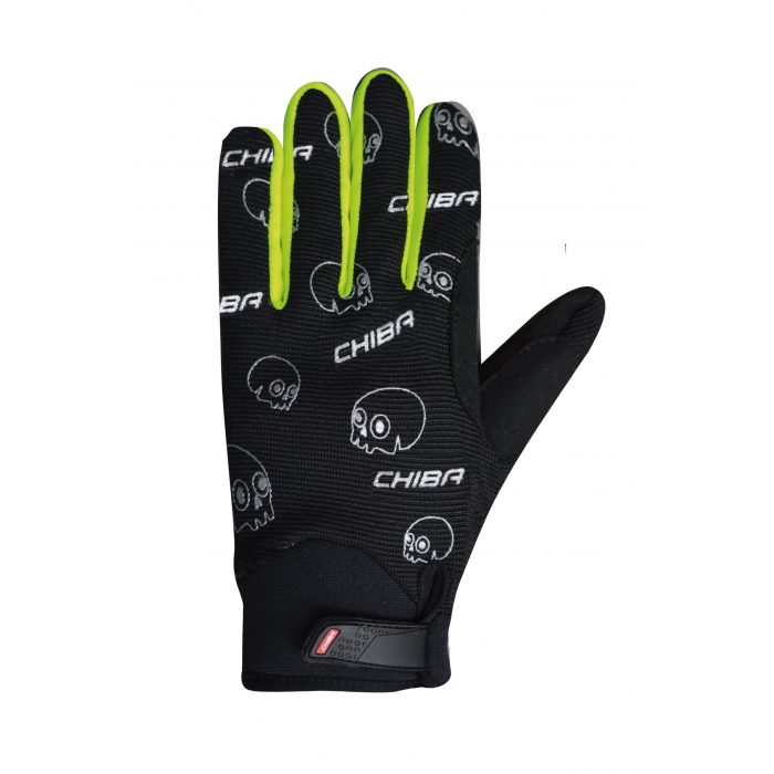 Chiba Kid Handschuhe Lang scaled